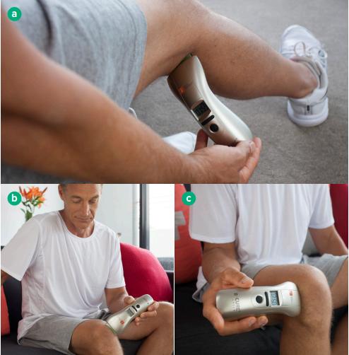 Применение аппарата B-cure Laser для лечения колена